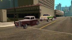 Grand Theft Auto: San Andreas - Real Cars