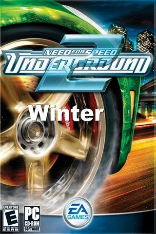 NfS: Underground 2 – Winter