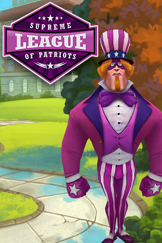 Supreme League of Patriots Issue 1