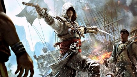 Assassin's Creed 4 Black Flag (2013)  на русском