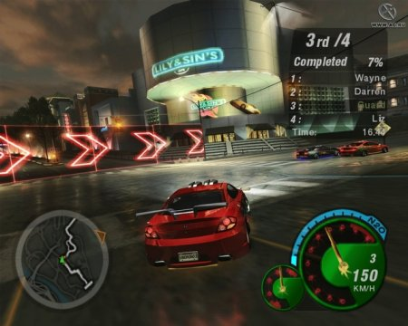 Need For Speed: Underground 2 (2004)  на русском