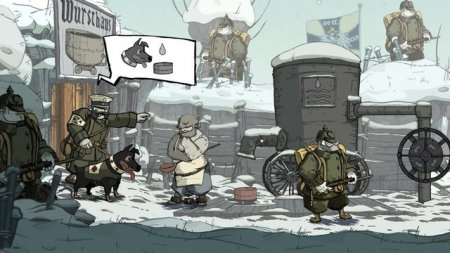Valiant Hearts: The Great War 2014  на русском