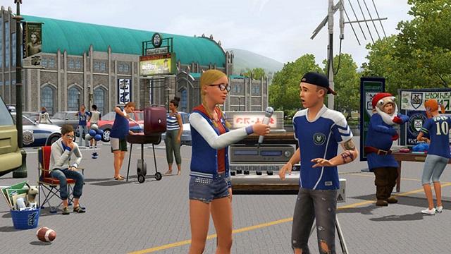 The sims 3 university life студенческая жизнь
