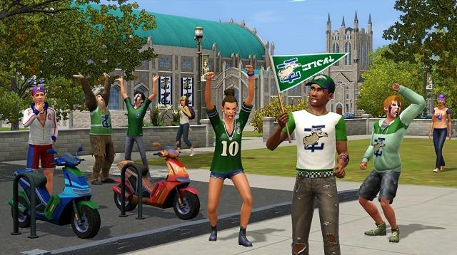 скачать игру Sims 3 студенческая жизнь на компьютер бесплатно через торрент - фото 9