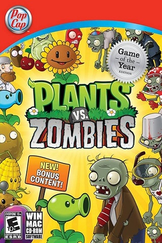 Plants vs Zombies Game Of Year