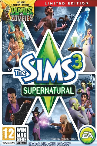 The sims 3: сверхъестественное / the sims 3: supernatural.