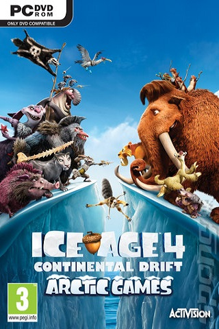 Ice Age Continental Drift Arctic