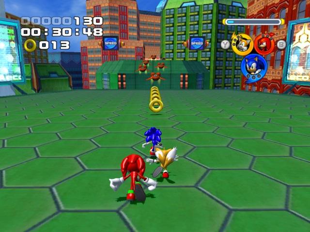Sonic heroes скачать торрент бесплатно на pc.