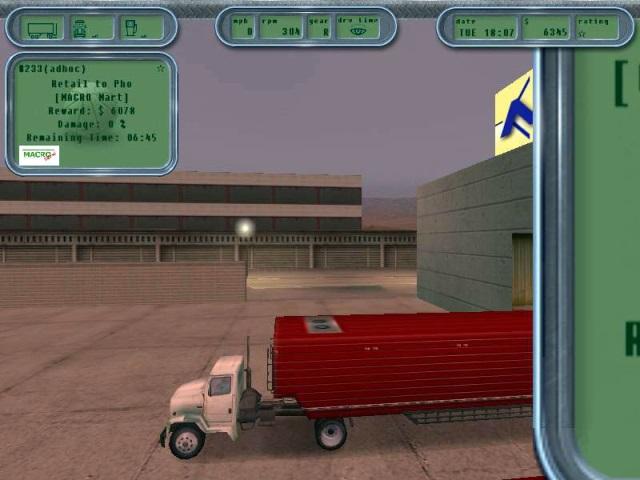Hard truck: 18 wheels of steel • windows games • downloads @ the.