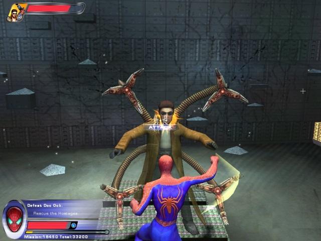 Человек-паук 2 / spider-man 2 the game (2005) ps2 » скачать.