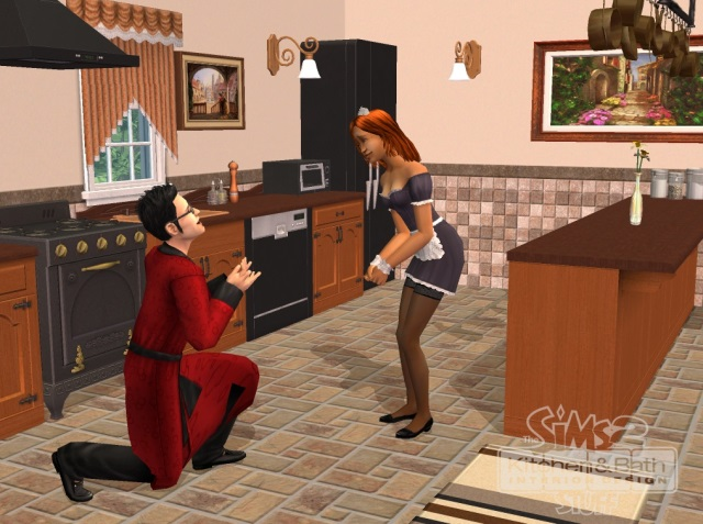 The sims 2 kitchen and bath interior design stuff for Sims 3 interior design kitchen