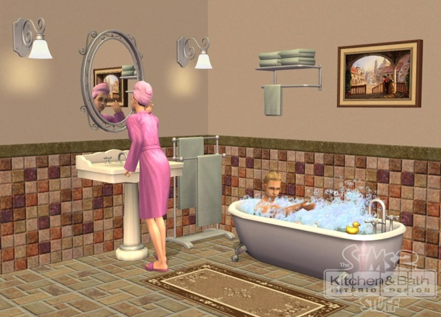 The Sims 2 Kitchen and Bath Interior