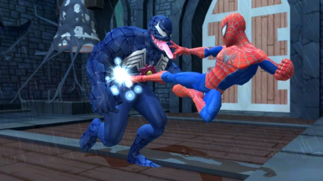 Игру Spider Man Friends Or Foe