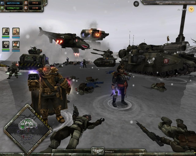Warhammer 40000: dawn of war антология (repack от r. G. Catalyst.