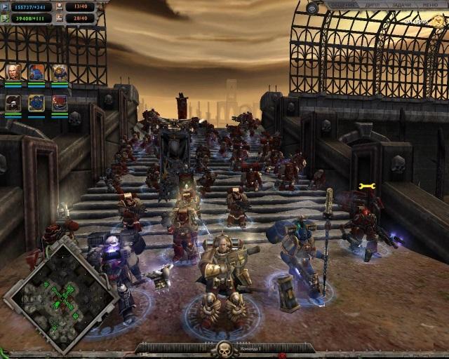 Warhammer 40000: dawn of war – dark crusade (2006) rus скачать.