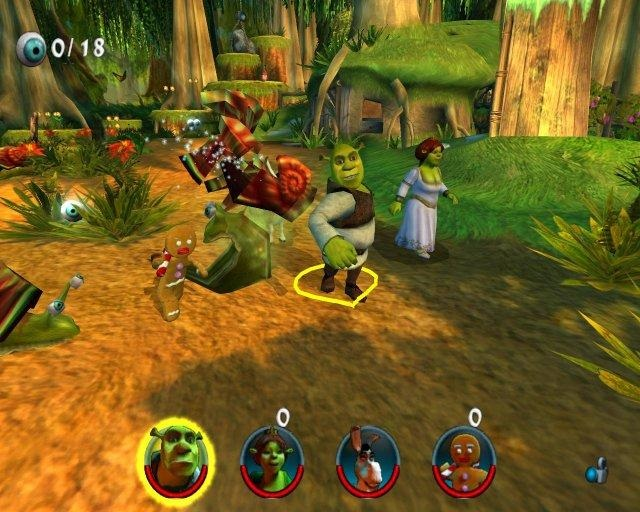 Shrek 2: the game (2004) pc | лицензия » ckopo. Net | скачать.