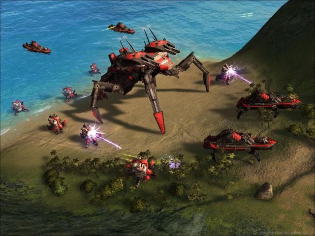 скачать игру суприм командер Forged Alliance - фото 11