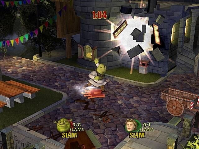 Скачать онлайн игру shrek superslam ролевая игра описание дома