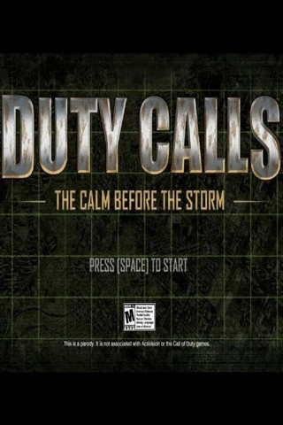 Duty Calls: The Calm Before