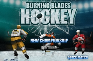 Burning Blades Hockey - чемпионат по хоккею