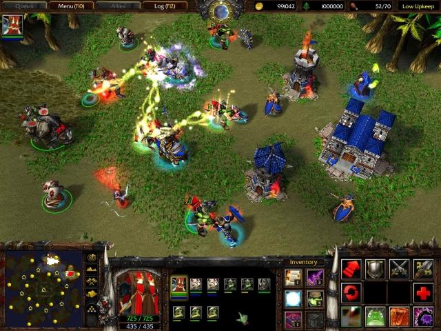 Warcraft 3 reign of chaos скачать торрент.