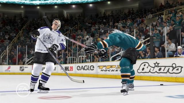 Скачать бесплатно игру хоккей нхл на компьютер nhl 09 русская.