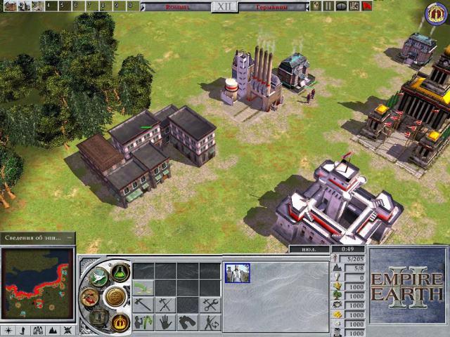 Игра empire earth 2: gold edition v. 1. 2 (2006) repack от r. G.
