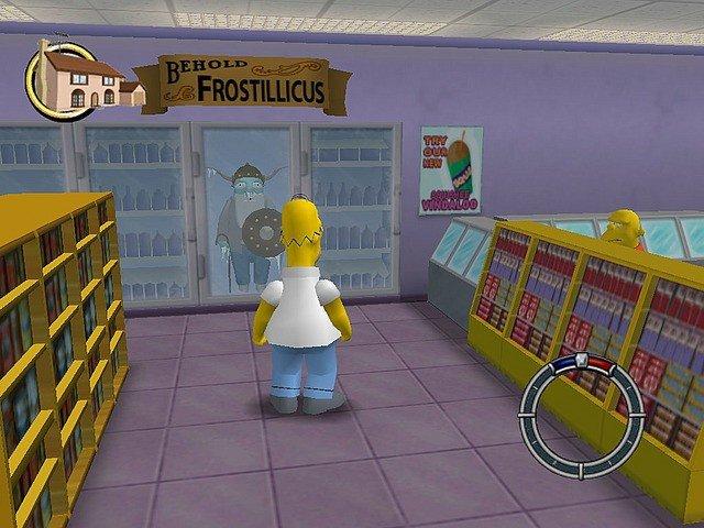 Simpsons hit and run торрент