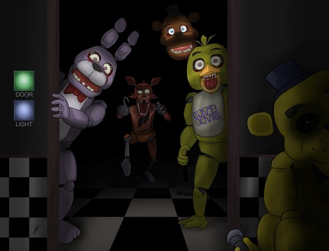 One nights at freddy's 3d oculus & steam vr htc vive update.