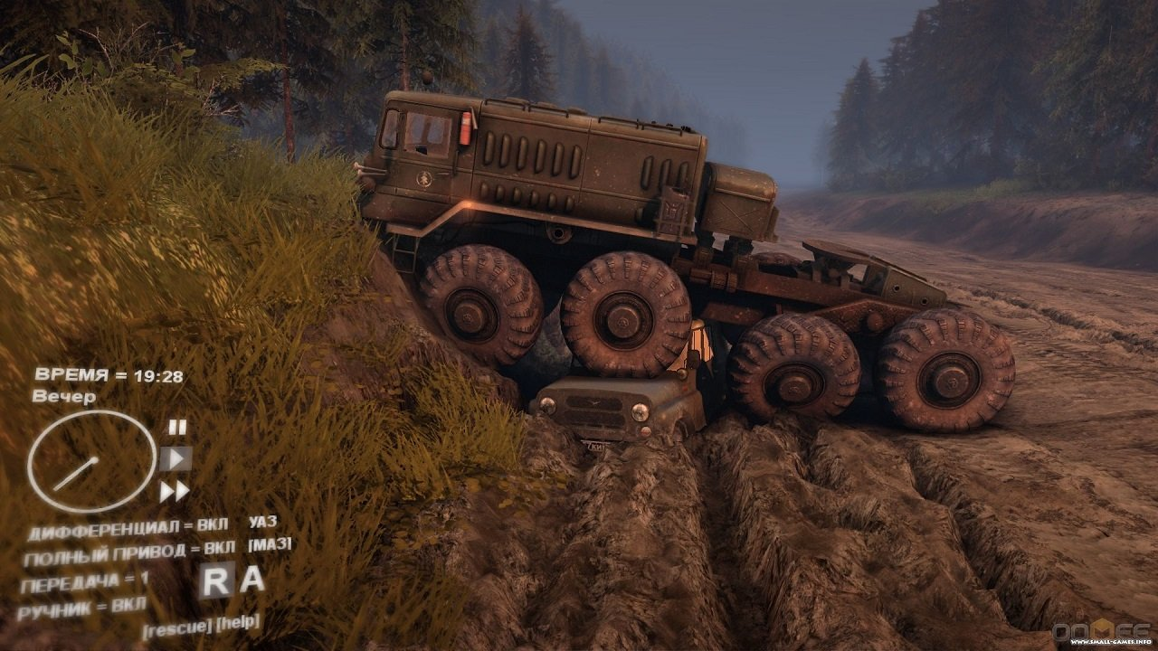 Spintires mudrunner v06. 03. 2018 (update 6) torrent download.