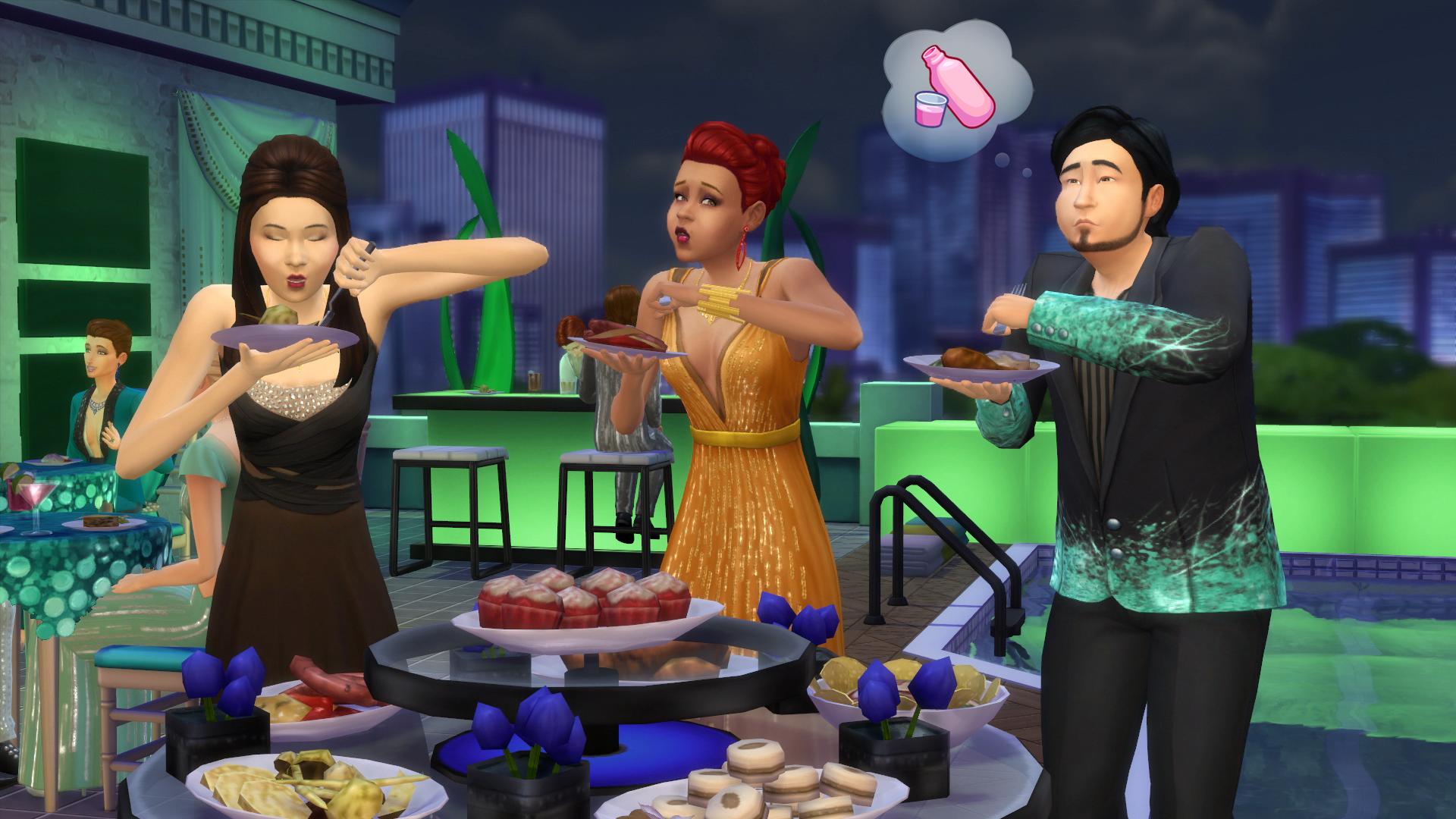 Вечеринки в «Симс 4» » m Вселенная игры the Sims! 28